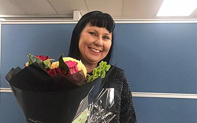 2020 Renee Thonard Award presented to Helen Hoppmann