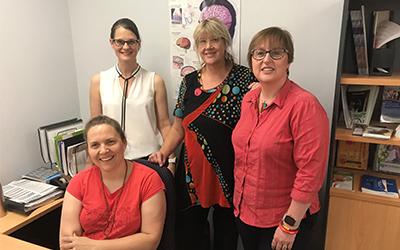 MS Nurses providing lifelong support